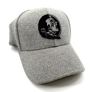 FSU Seminoles Fitted Gray Ball Cap Hat Size S/M